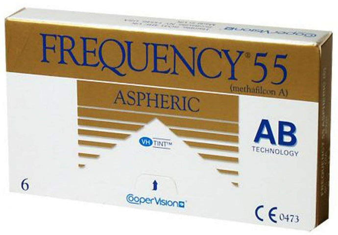 Cooper Vision Frequency 55 Aspheric Contact Lens (6 Lenses/Box)