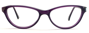 David Jones DJ-2039-VLT Cat-Eye Eyeglasses