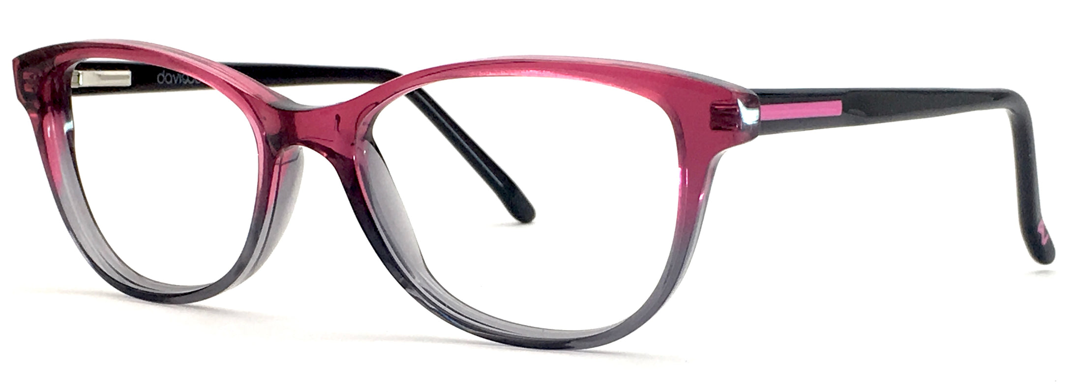 David Jones DJ-2026-P Cat-Eye Eyeglasses
