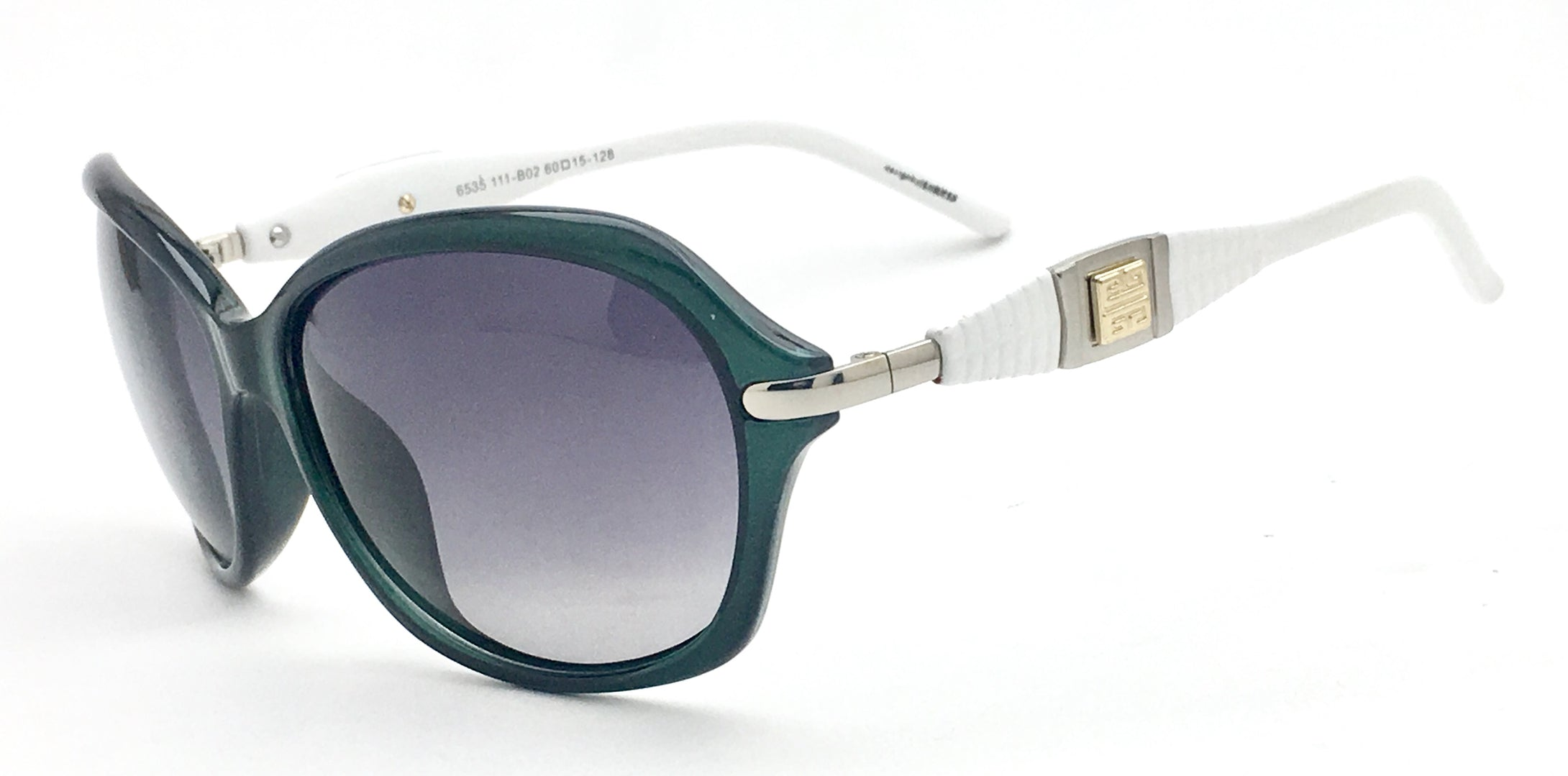 Angrish Green Black Butterfly Sunglasses | AG-6535-GRBL|