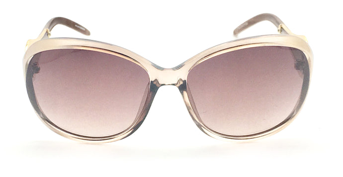 Angrish Cream Brown Cat-Eye Sunglasses | AG-6573-CBR |