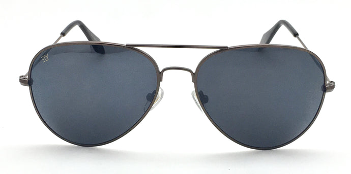 Angrish Brown Black Aviator Sunglasses | AG-1293-BRBL|
