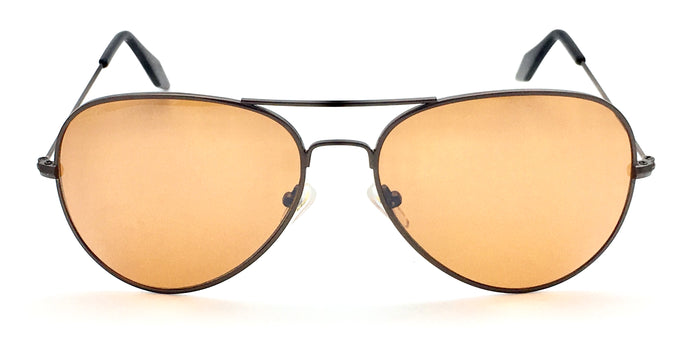 Angrish Brown Aviator Sunglasses | AG-1293-BR|