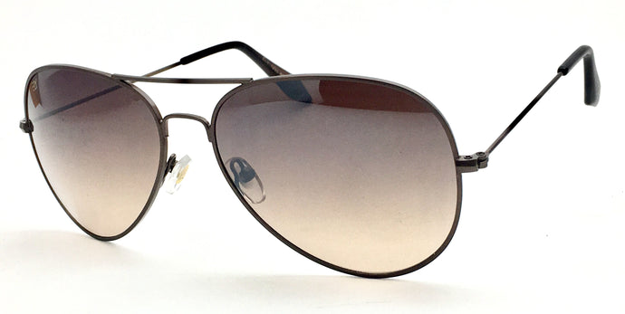 Angrish Dark Brown Aviator Sunglasses | AG-1293-DBR|