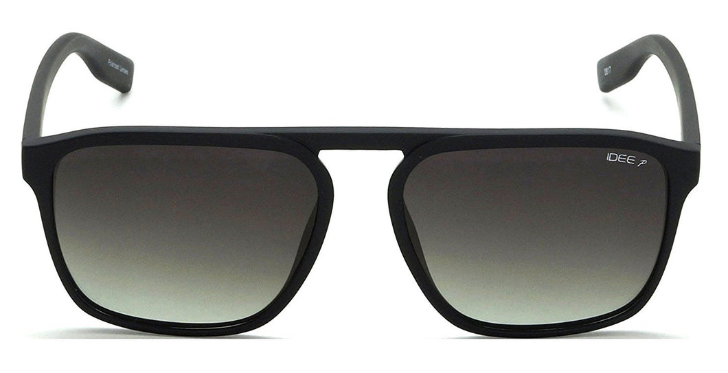 IDEE-S2302-C5P 58mm Large Rectangular Green Gradient Polarized Sunglasses