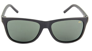 Farenheit FA-957-C1 Matt Black Frame With Green Glass Unisex Wayfarer Sunglasses