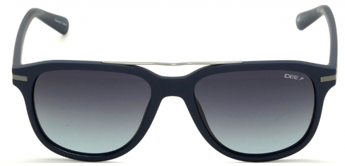 IDEE 2310-C5 Navy Blue Frame With Grey Lens Unisex Wayfarer Sunglasses