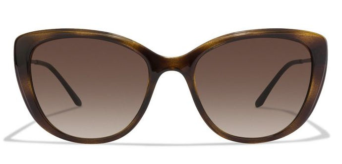 Vogue VO5147BI-W65613 Tortoise Golden Frame Brown Gradient Glass Women's Cat Eye Sunglasses
