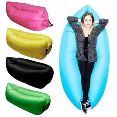 Banana Shape Air Sofa