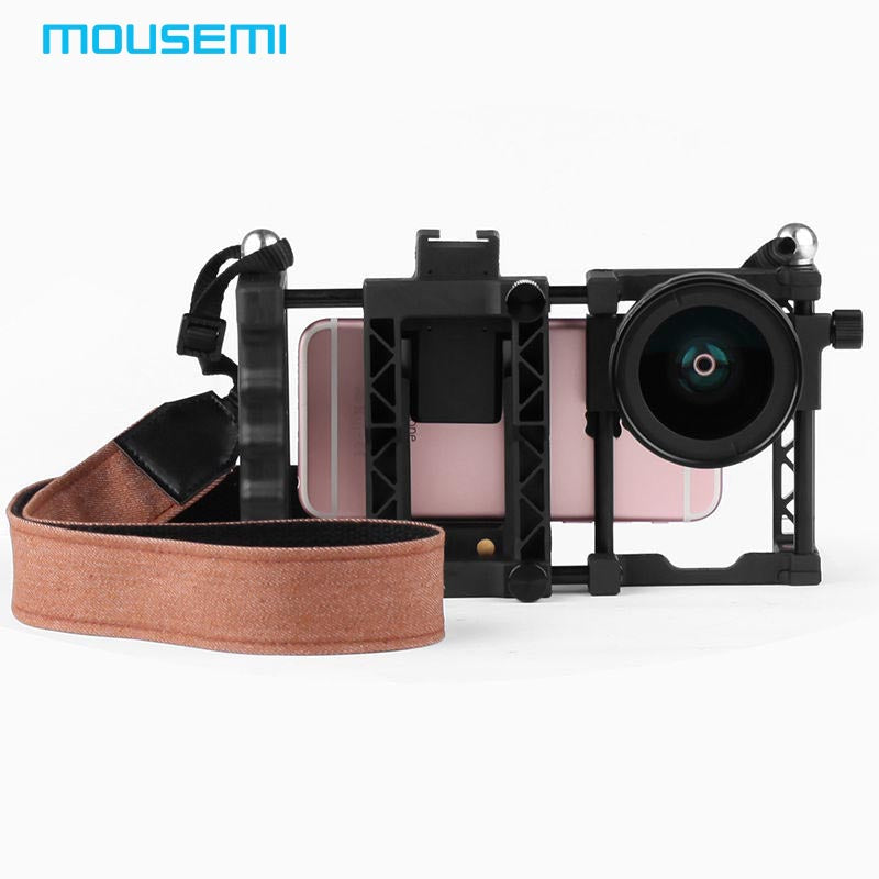 Smart Phone Lens Mount Handle