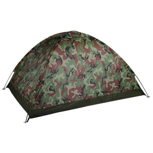 OUTAD Outdoor Portable Single Layer 2 Person Camouflage Camping Tent