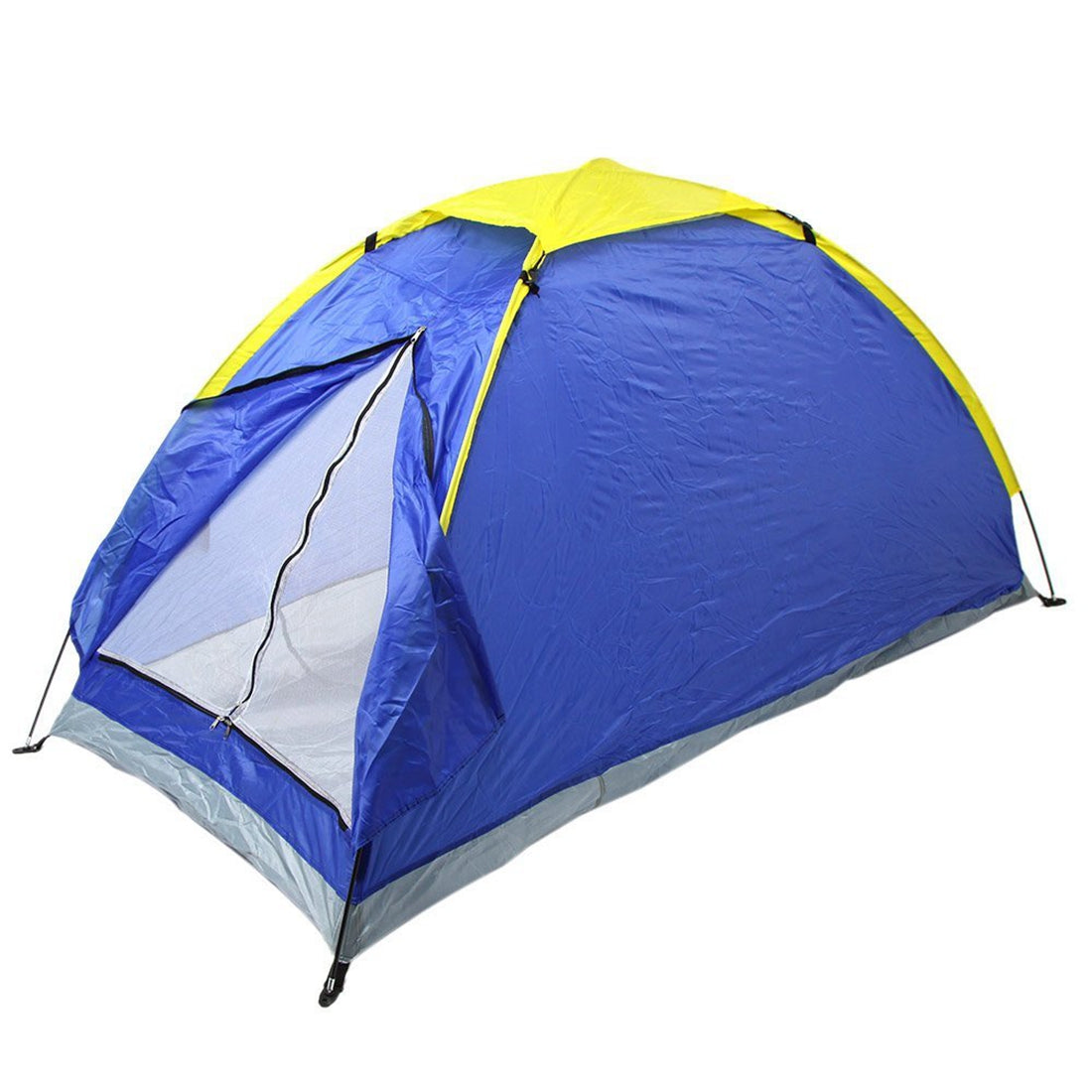 Outdoor Blue Single Person Camping Tent