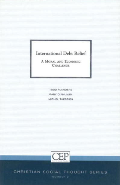 International Debt Relief: a Moral and Economic Challenge