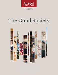 The Good Society Study Guide