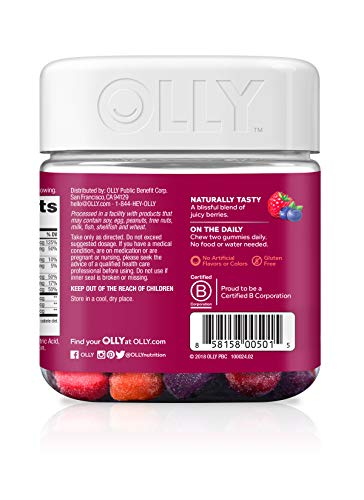 OLLY Perfect Women's Gummy Multivitamin with Biotin - Lady Essentials