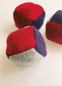 DIY Upcycled Sweater Dryer Ball Tutorial