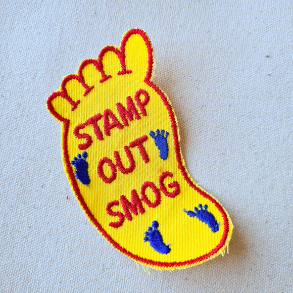 Stamp Out Smog Sew-On Patch