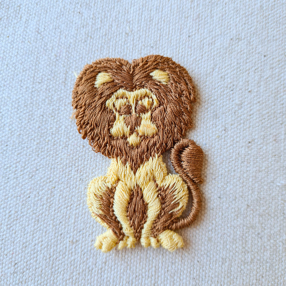 Lion Sew-On Patch