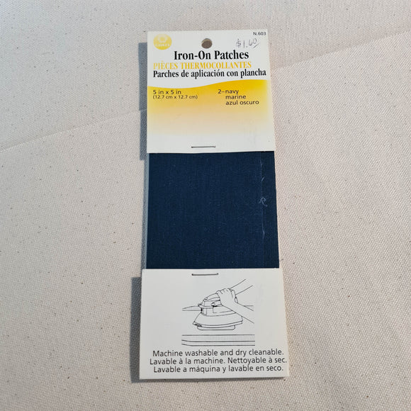 Coats Iron-On Mending Patches - 5