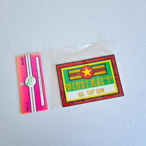 "Winni Mae ""7"" US Top Gun Plastique Patch"