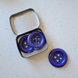 Chunky Buttons | Purple | Set of 3