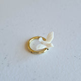 Wedding Decorations | Doves on Gold Rings