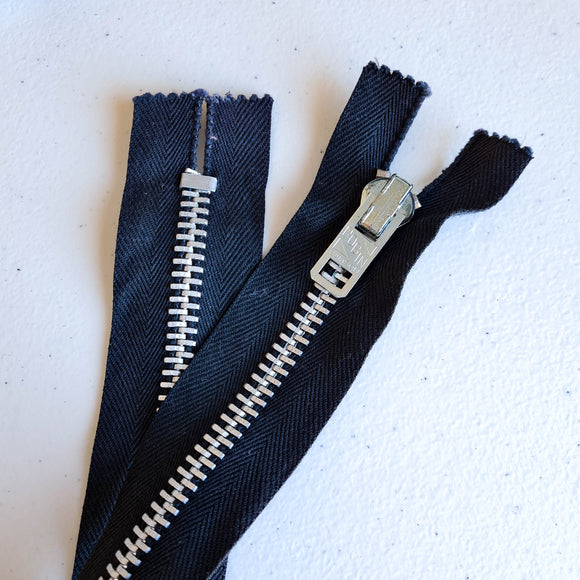 Chunky Metal Zippers | NON-SEPARATING
