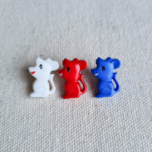 "5/8"" Mice Buttons 