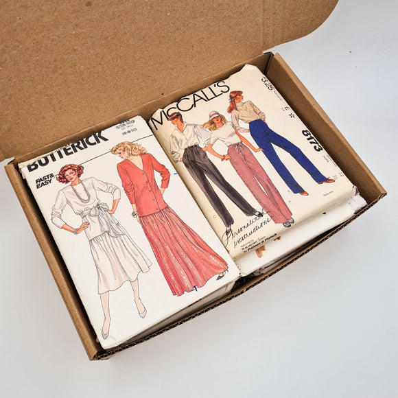 Vintage Pattern Bundle Box | Misses' 31-32