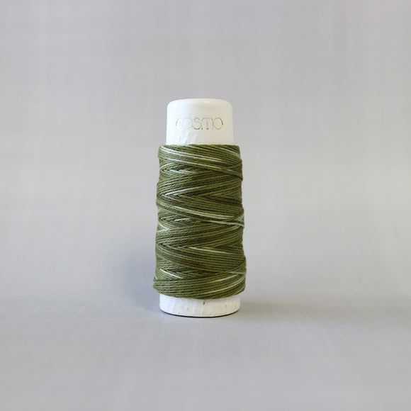 Sashiko Thread | NEW | Moss Gradient