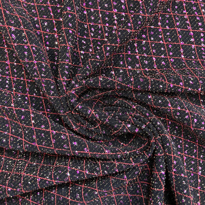 Pink Crystals Stretch Knit