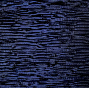 Midnight Navy Crinkle Home Dec