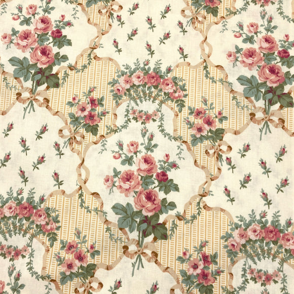 Primrose Beige | Quilting Cotton
