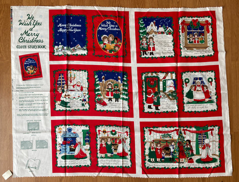 Merry Christmas Cloth Book Kit