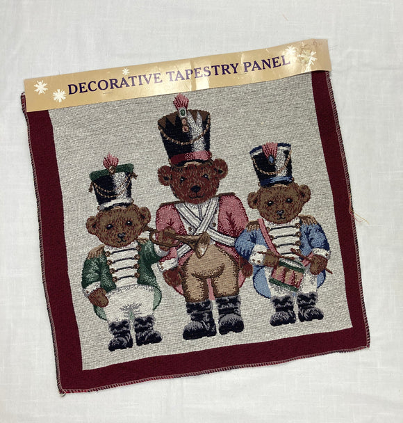 Nutcracker Bears Tapestry