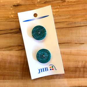 "3/4"" Sea Green Buttons - JHB - Made in Holland"