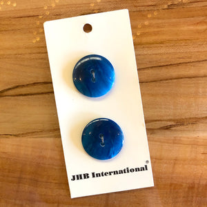 "7/8"" Ocean Tide Buttons - JHB - Made in France"