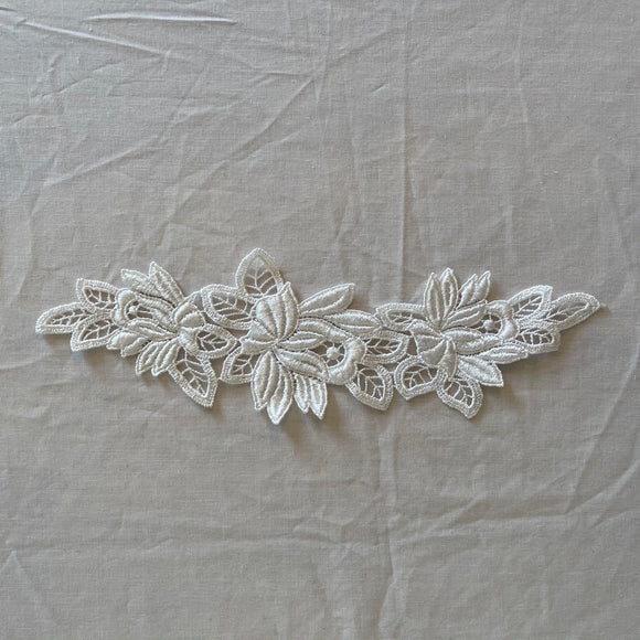 White Lace Applique 11