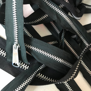 Heavy Duty Metal Separating Zippers