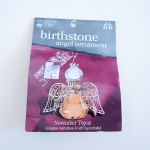 Vintage Birthstone Angel Ornament Kit