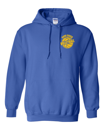 Dove Creek Volleyball - Pull Over or Zip Front Hoodies