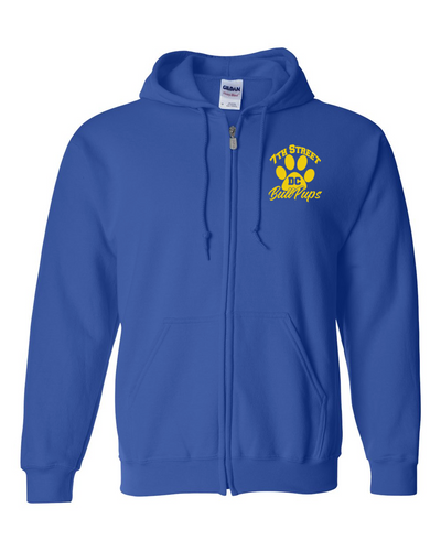 Dove Creek - 7th Street Adult Zip Front Hoodies