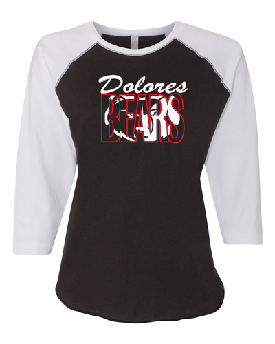 Dolores Bears - 3/4 Ladies T-shirt