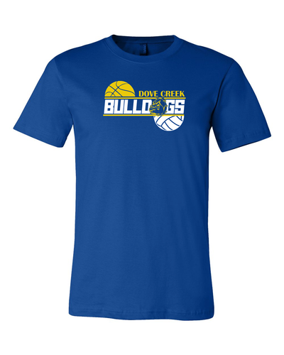 Dove Creek Bulldog Basketball & Volleyball Soft T-shirt
