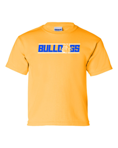 Dove Creek Football - Youth Shirts Basic Bulldog Logo