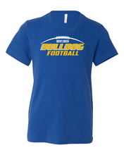 Dove Creek Football - Youth Shirts Bulldog Football Logo