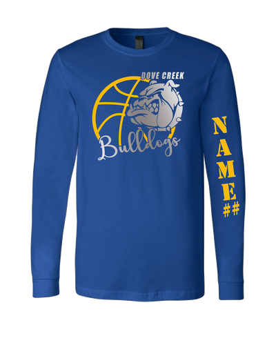 Dove Creek MS Basketball - Customize my item