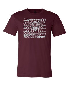 Custom Printed Lancaster Honeycomb T-shirt