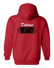 Dolores Bears - Zip Front Hoodies