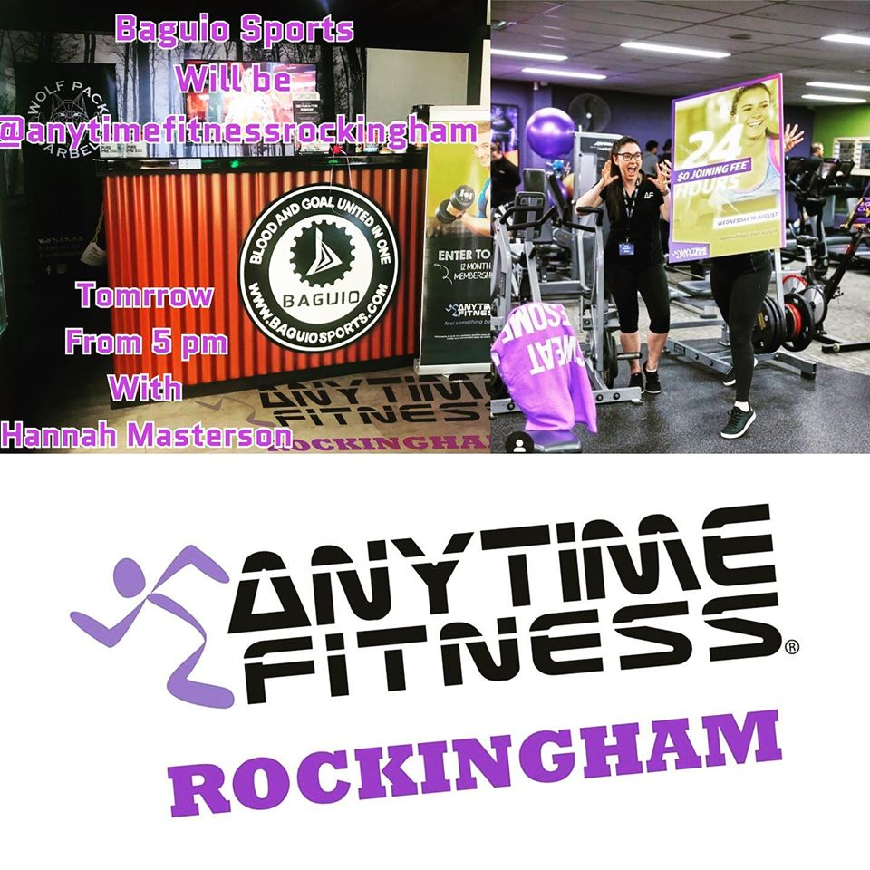 Pop-up Store at Anytime Fitness Rockingham